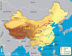 China City Map by China Rivers Map Important Rivers In China