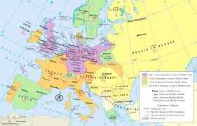 Map Of Russia And Europe by 1910 European Industrial Development Russian Revolution