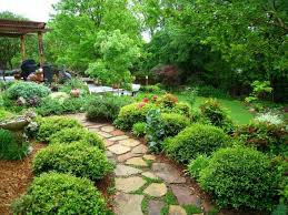 green garden design beautiful garden design with pond with full of