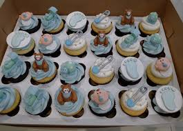 boy baby shower blue theme cupcakes baby shower blue boy baby