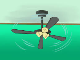 Wall Hugger Ceiling Fans How To Install A Hugger Ceiling Fan With Pictures Wikihow