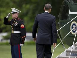 Is Obama Not Initially Saluting a Marine Back a Big Deal? President Barack