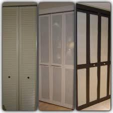 Closet Door Ideas Diy by Nice Idea For Old Bi Fold Doors Remove The Slats U0026 Replace With