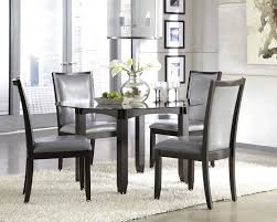 dining room table sets leather chairs with inspiration image 6046