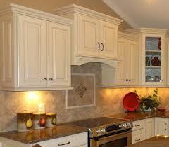 Kitchen Backsplash Options Amazing Kitchen Backsplash Ideas With Cherry Cabinets Surripui Net