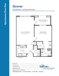 750 Sq Ft Apartment Apartment Homes At Twin Lakes Senior Living Community Life