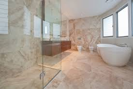simple travertine bathroom tile ideas 3576x2562 graphicdesigns co