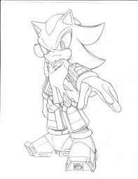 super sonic coloring pages shadow the hedgehog coloring pages getcoloringpages com
