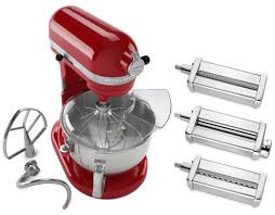 Kitchen Aid Pasta Maker by Kitchenaid Stand Mixer And Pasta Set