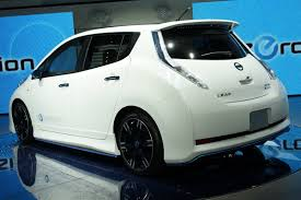 nissan leaf you plus nismo adds some zing to nissan leaf ev with new concept at tokyo