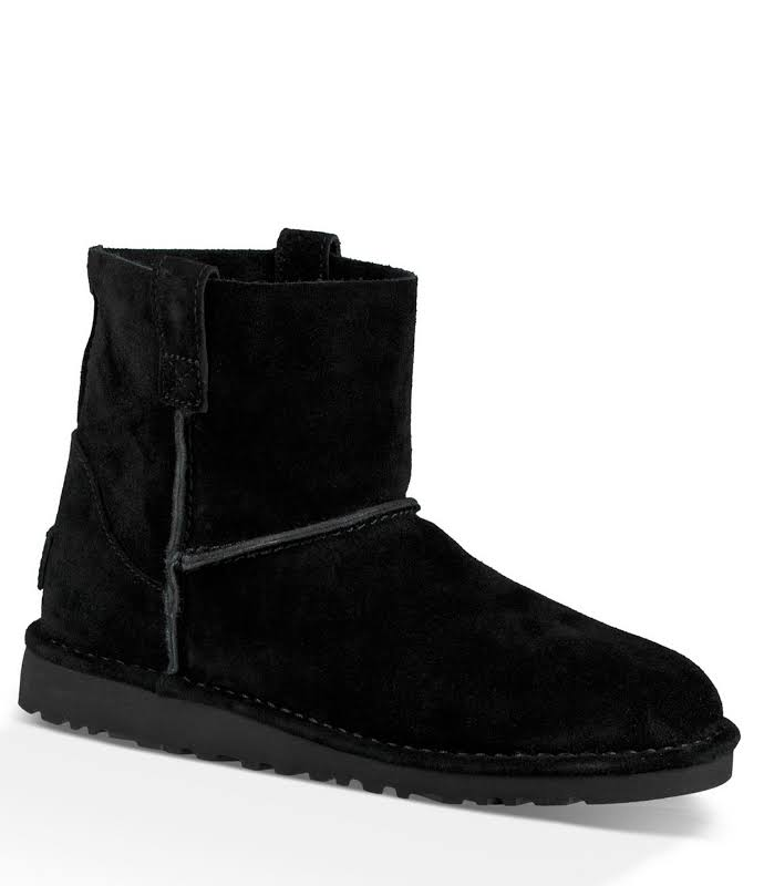 UGG Classic Unlined Mini Perf Boot Black, Brand
