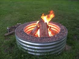 Ideas For Fire Pits In Backyard by Best 10 Fire Pit Ring Ideas On Pinterest Fire Ring Building A