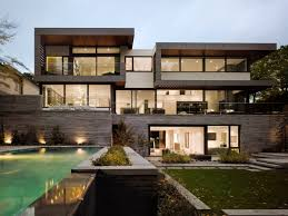 architecture custom luxury home designs with large glass windows