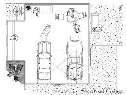 Garage And Shop Plans by Garage Shop Designs
