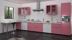 Stove In Kitchen Island Pink Kitchen Walls Rectangular Elegant Duco Glosy Island Cream