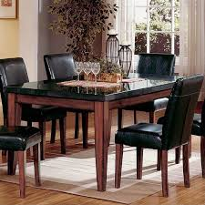 Steve Silver Dining Room Furniture Steve Silver Company Bello Granite Casual Dining Table In Cherry