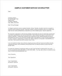 airline customer service cover letter   Template