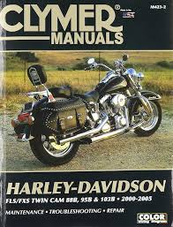 amazon com clymer repair manual for harley softail twin cam 88 00