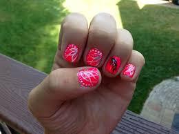 wispy neon feather nail design taylor u0027s board pinterest