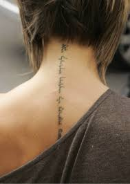 Women Tattoo Letters Picture 3