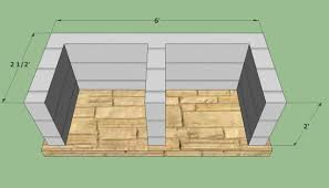 bbq pit plans howtospecialist how to build step by diy home