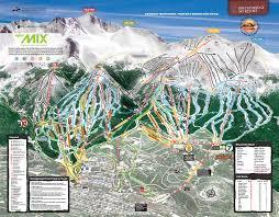 Map For United States by Piste Maps For American Ski Resorts J2ski