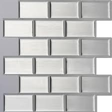 Wallpaper For Backsplash In Kitchen 6pcs Lot Self Adhesive Wallpaper 3d Diy Brick Sticker Peel And