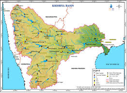 Hydrology Map Krishna