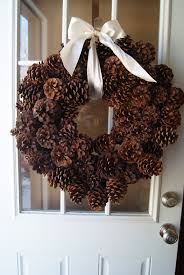 making pine cone wreaths pine cone pine and wreaths