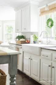 Kitchen Oak Cabinets by Best 25 Painted Oak Cabinets Ideas Only On Pinterest Painting