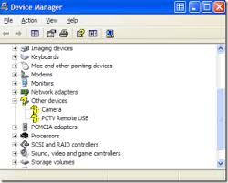 device driver hilang