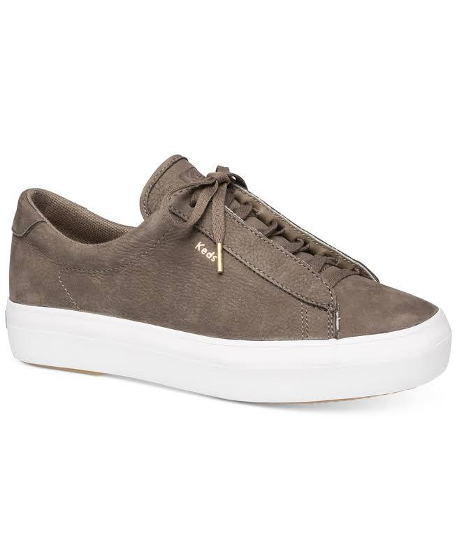 Keds Rise Metro Nubuck Olive Ankle-High Sneaker 6.5M