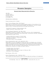 Resume Examples  Sales Objective For Resume  professional sales     longbeachnursingschool Resume Examples  Sample Sales Objective For Resume With Senior Territory Manager Professional Experience  Sales