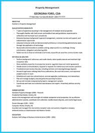 Assistant Property Manager Resume Sample by Sample Property Manager Resume Free Resume Example And Writing