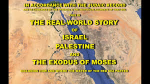 Exodus Route Map by The Exodus Story The Real World Story Of Israel Palestine And