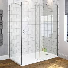 walk in shower recess walkin shower enclosure 1400mm tray with