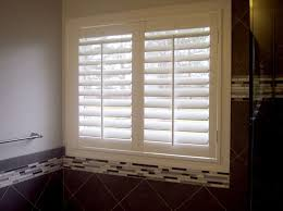 home decoration white viny plantation shutters for bathroom