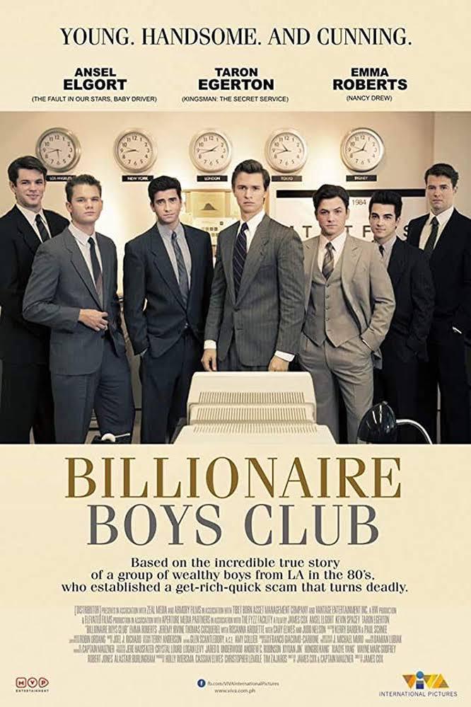 Afbeeldingsresultaat voor billionaire boys club film