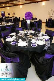 Black Centerpiece Vases by Purple Black And White Damask Wedding Decor Damask Wedding Decor