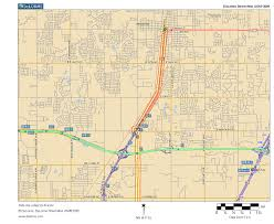 Oklahoma City Map Oklahoma Highways Us Route 77 Oklahoma City Area