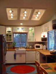 Track Lighting For Kitchens by Convert That Ugly Recessed Fluorescent Ceiling Lighting In Your