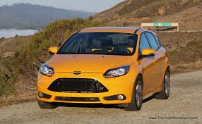 Ford Focus Colours 2014 Ford Focus St Exterior The Truth About Cars
