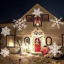 amazon com bstpower snowflake christmas projector lights white