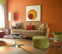 bedroom decorating combination colour orange and brick wall idolza what color green should i paint my living room orange colors ideas best living room