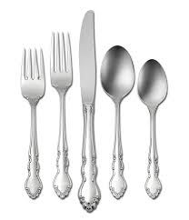 oneida dover floral stainless steel flatware dillards