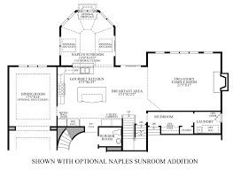 Sunroom Floor Plans by Dutchess Farm Estates The Essington Home Design