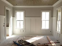 wainscoting wainscoting dining room board and batten bathroom