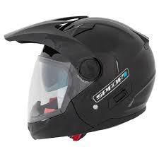 open face motocross helmet spada duo dual sport motorcycle motocross motorbike sun visor