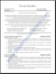 Format Of Resumes 100 Sample Resume Format For Experienced It Professionals Doc