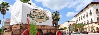 Map Of The Villages Florida by The Villages Spanish Springs Town Square